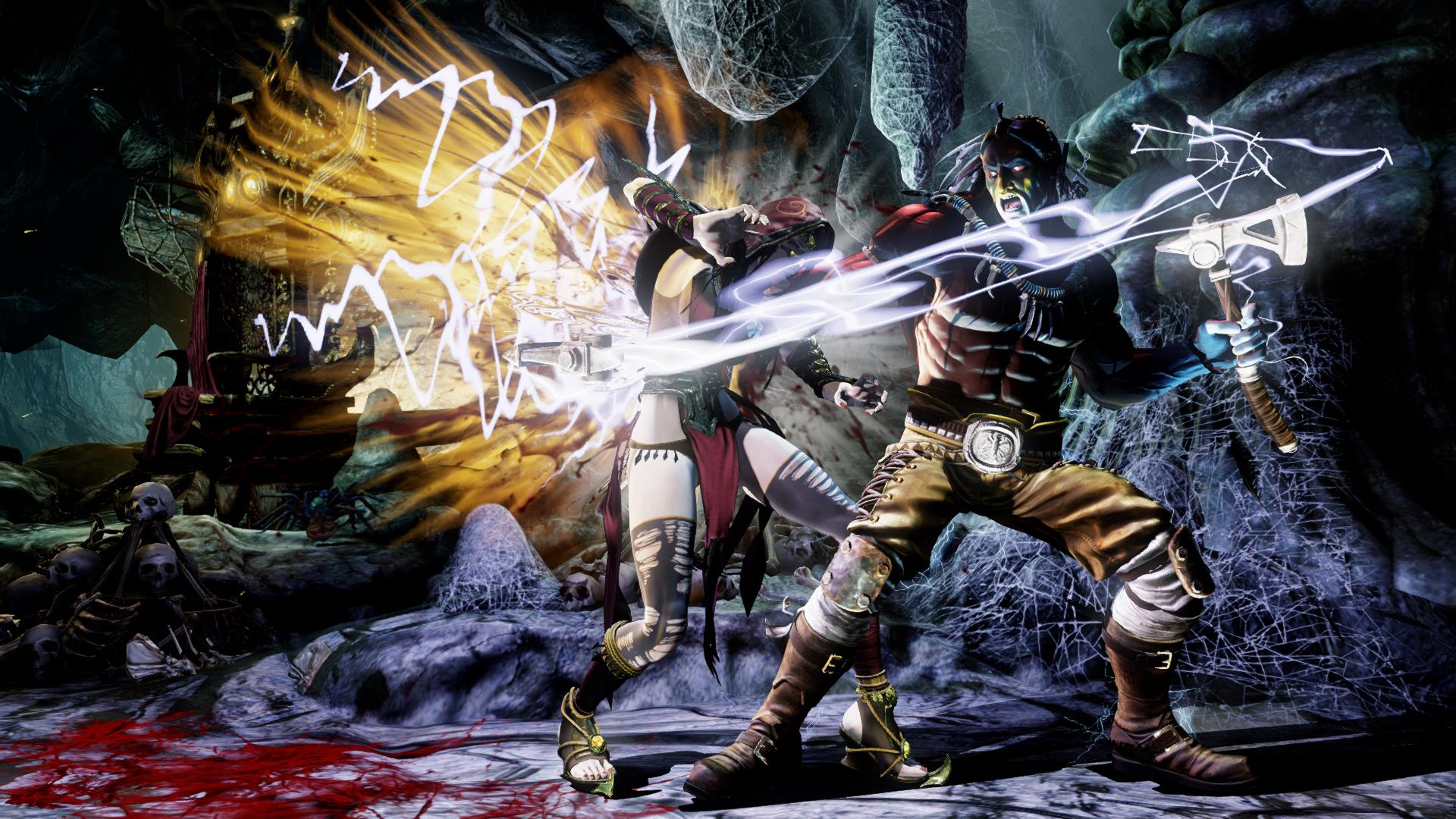 Sparring Thunder in Killer Instinct